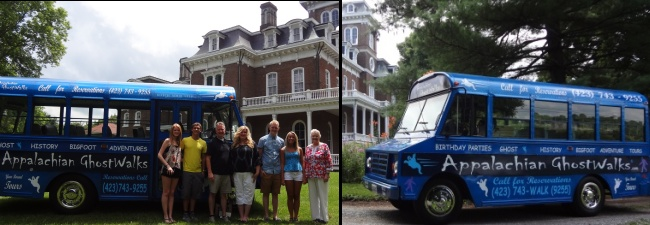 Appalachian GhostWalks Bus Tours